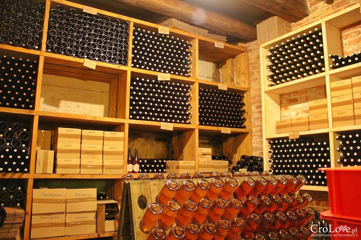 Piwnica z winem w Vuglec Breg