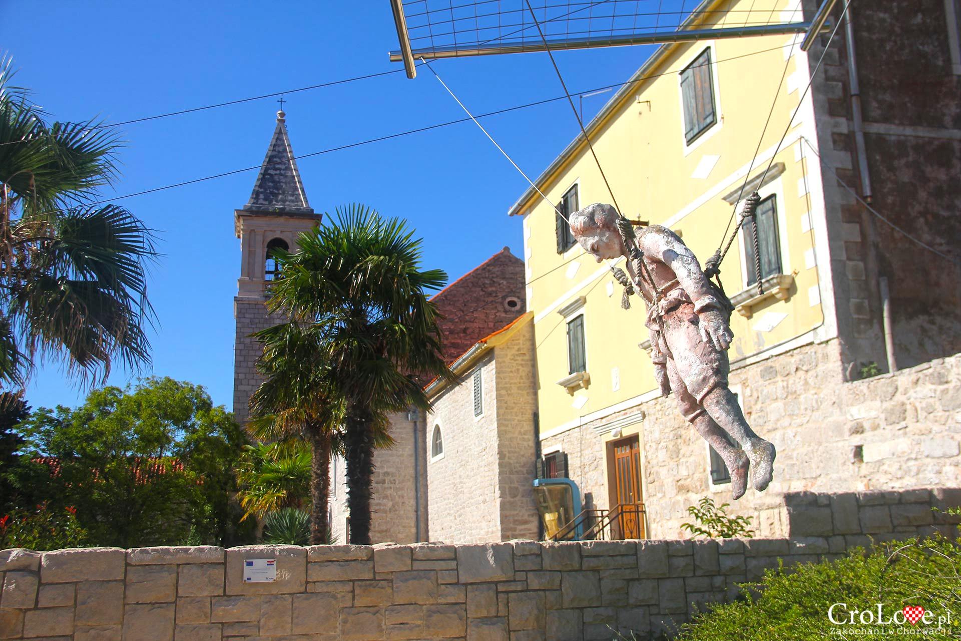 Centrum pamięci Fausta Vrančića na wyspie Prvić