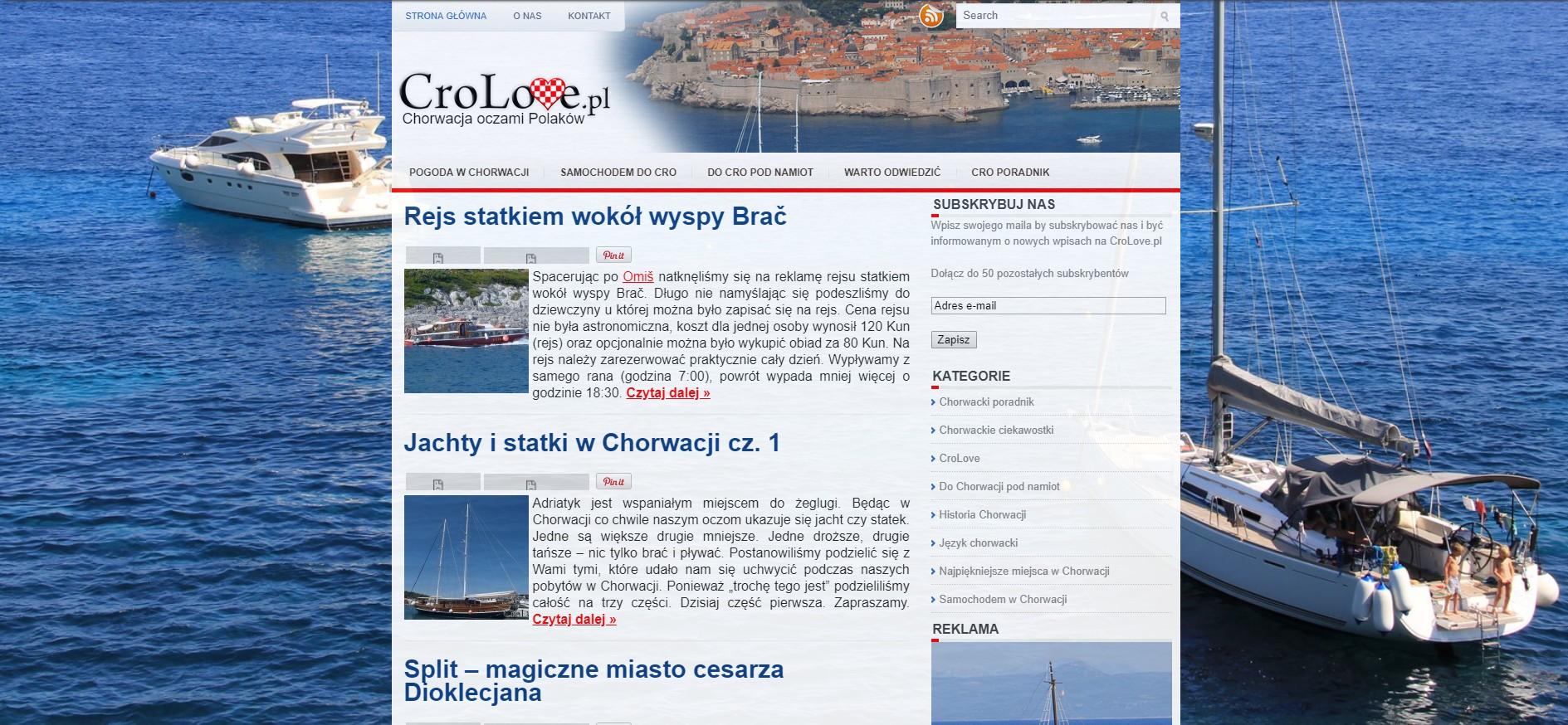 CroLove ver 1.0 (lata 2012-2014)
