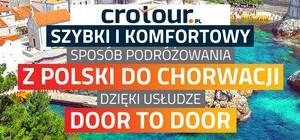 Przewóz osób i rzeczy Polska - Chorwacja CroTour.pl