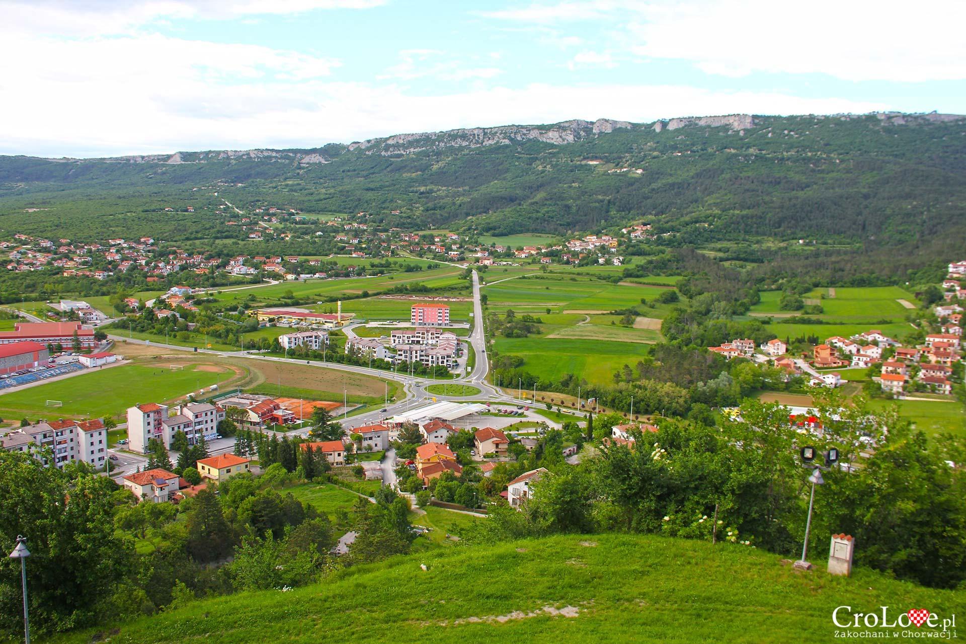 Panorama okolicy Buzet