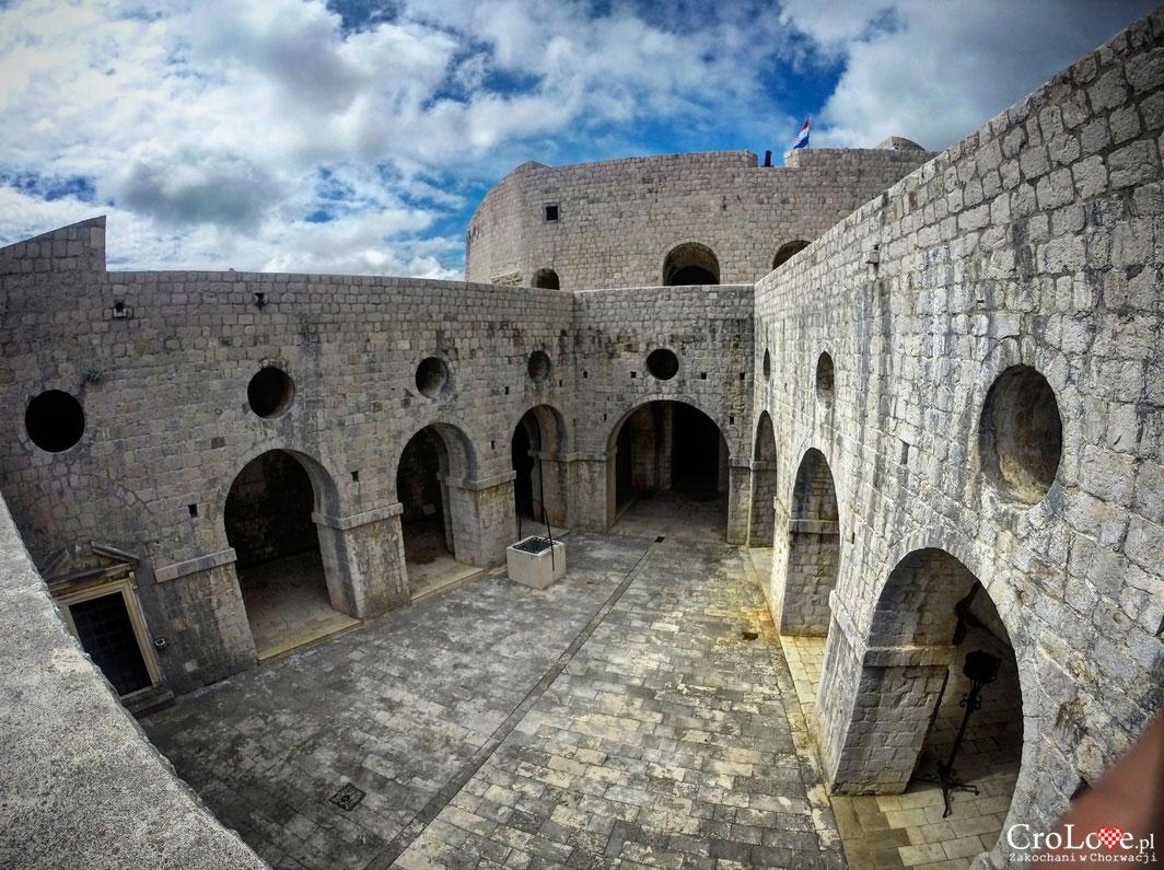 Fort Lovrijenac w Dubrowniku - Czerwona Twierdza