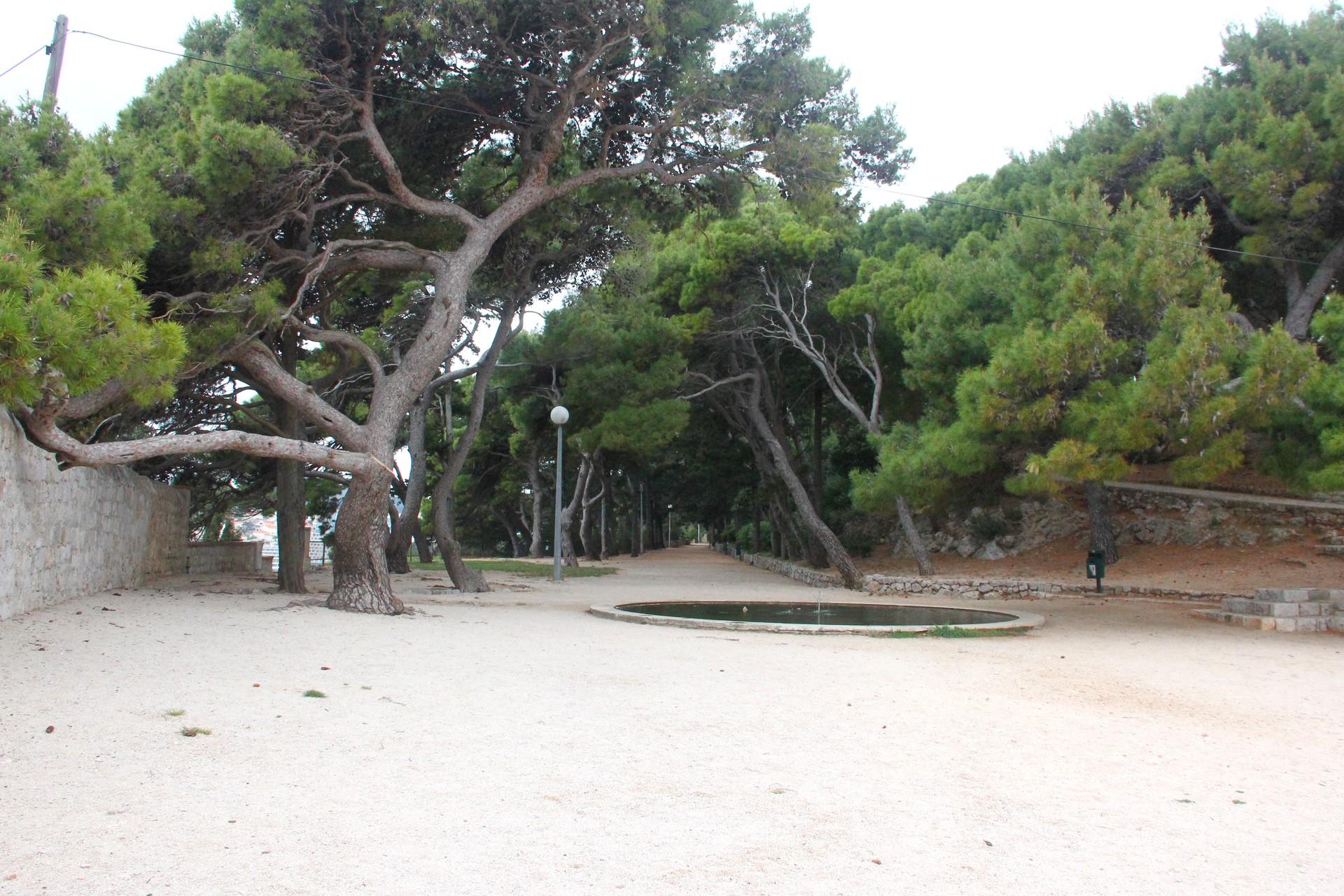 Park Gradac w Dubrowniku