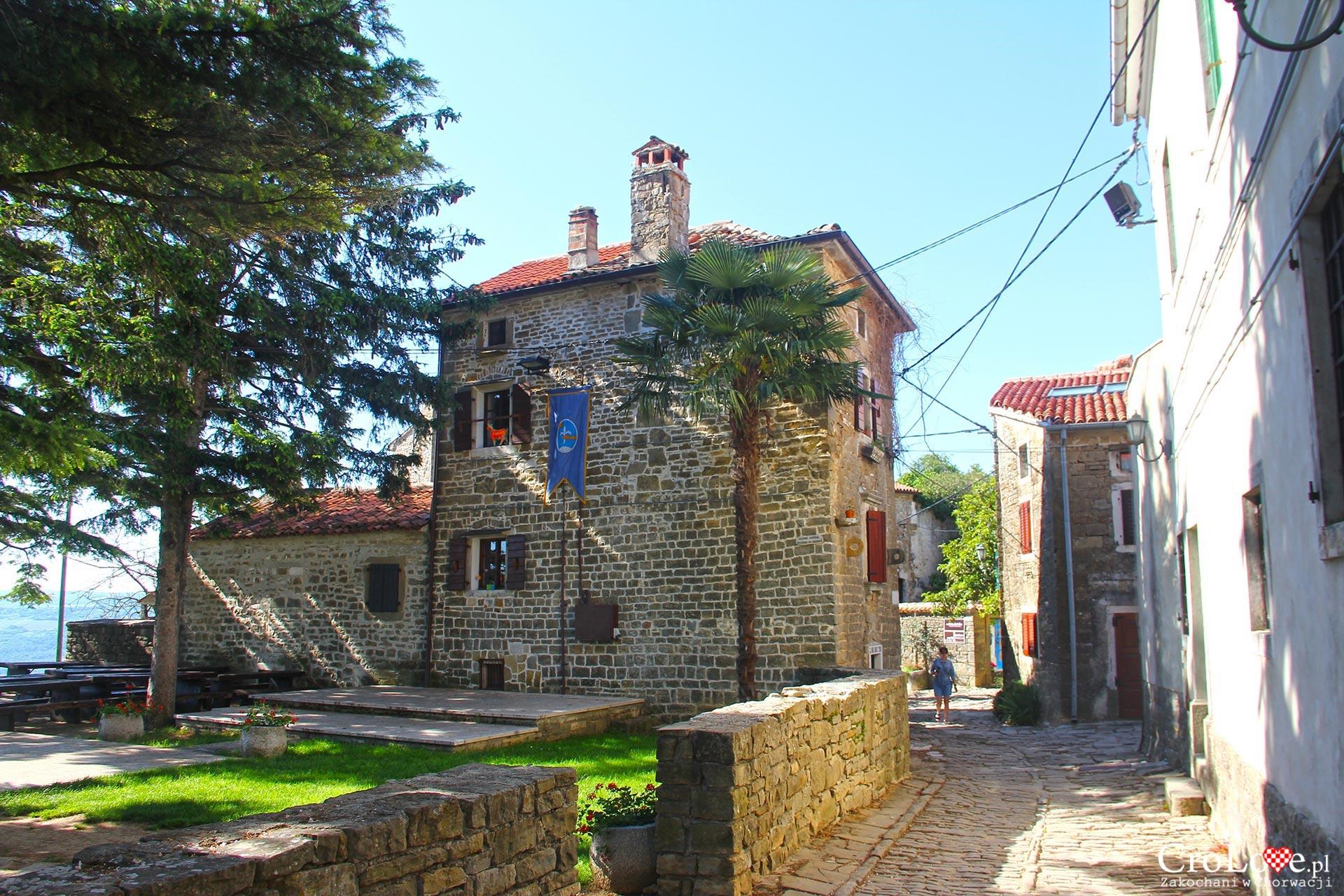 Grožnjan na półwyspie Istria, Chorwacja
