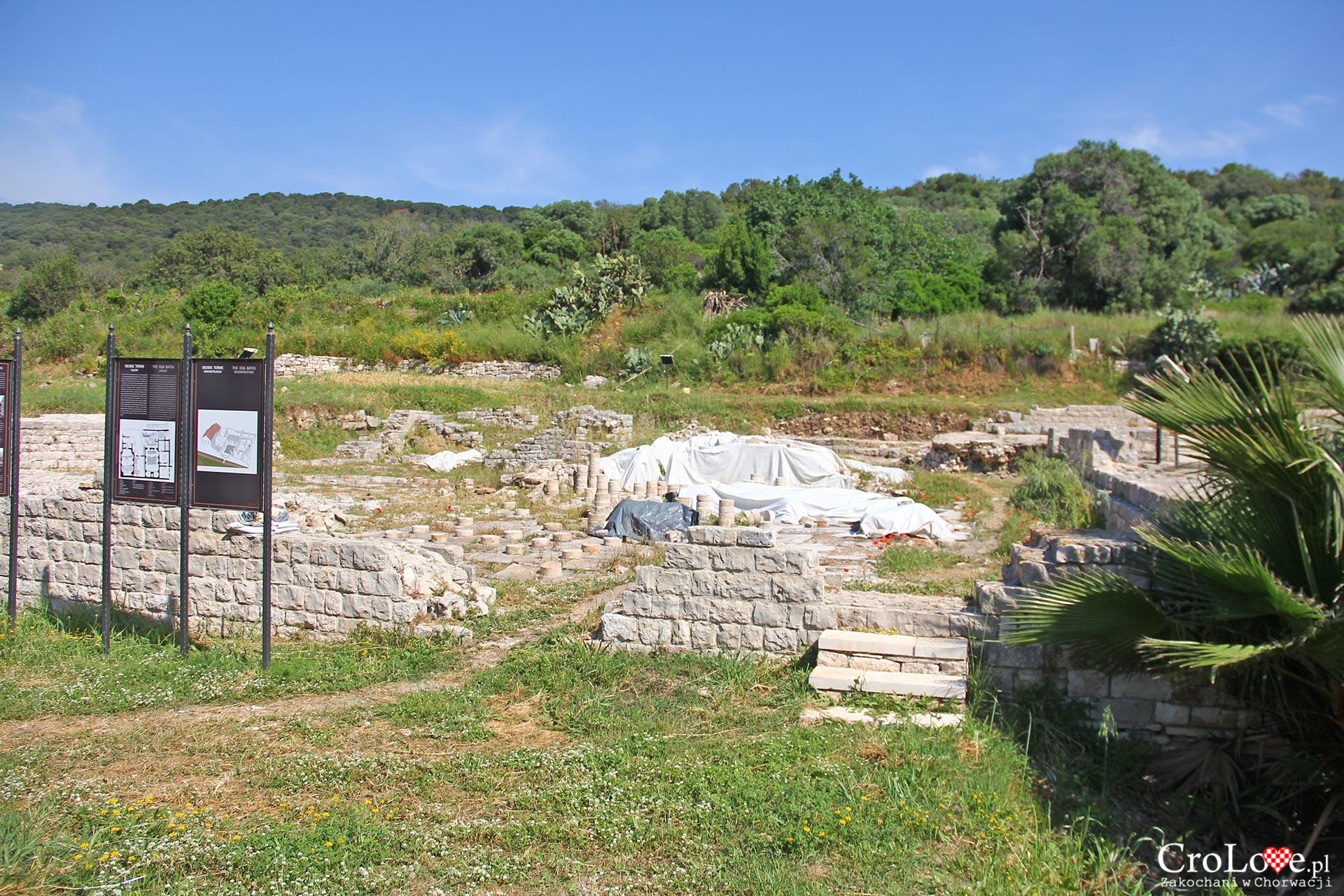 Ruiny term w Vis