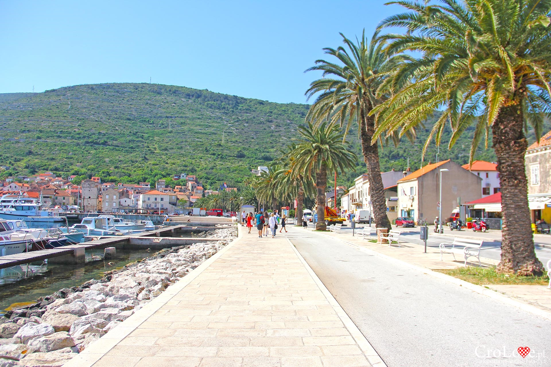 Miasto Vis w Chorwacji