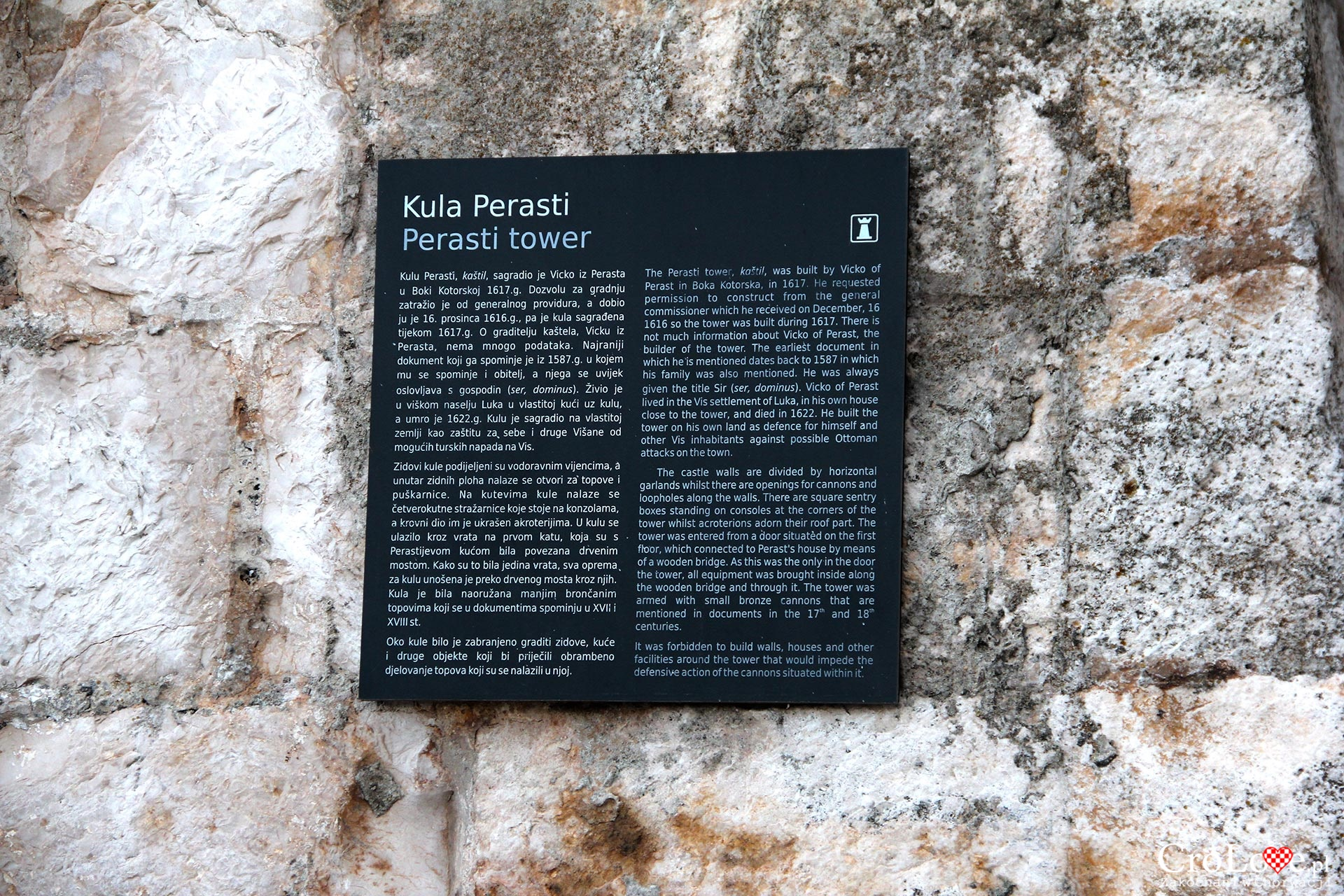 Wieża Perasti w Vis