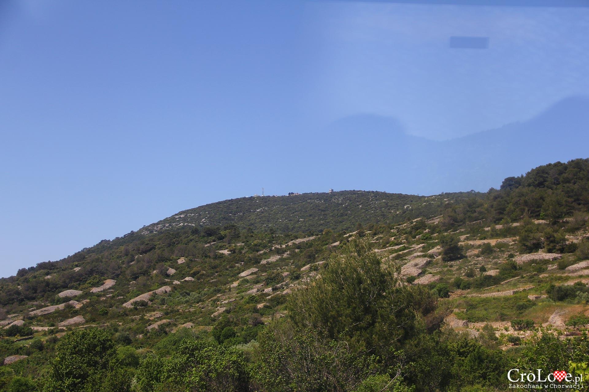 Wzgórze Hum na wyspie Vis