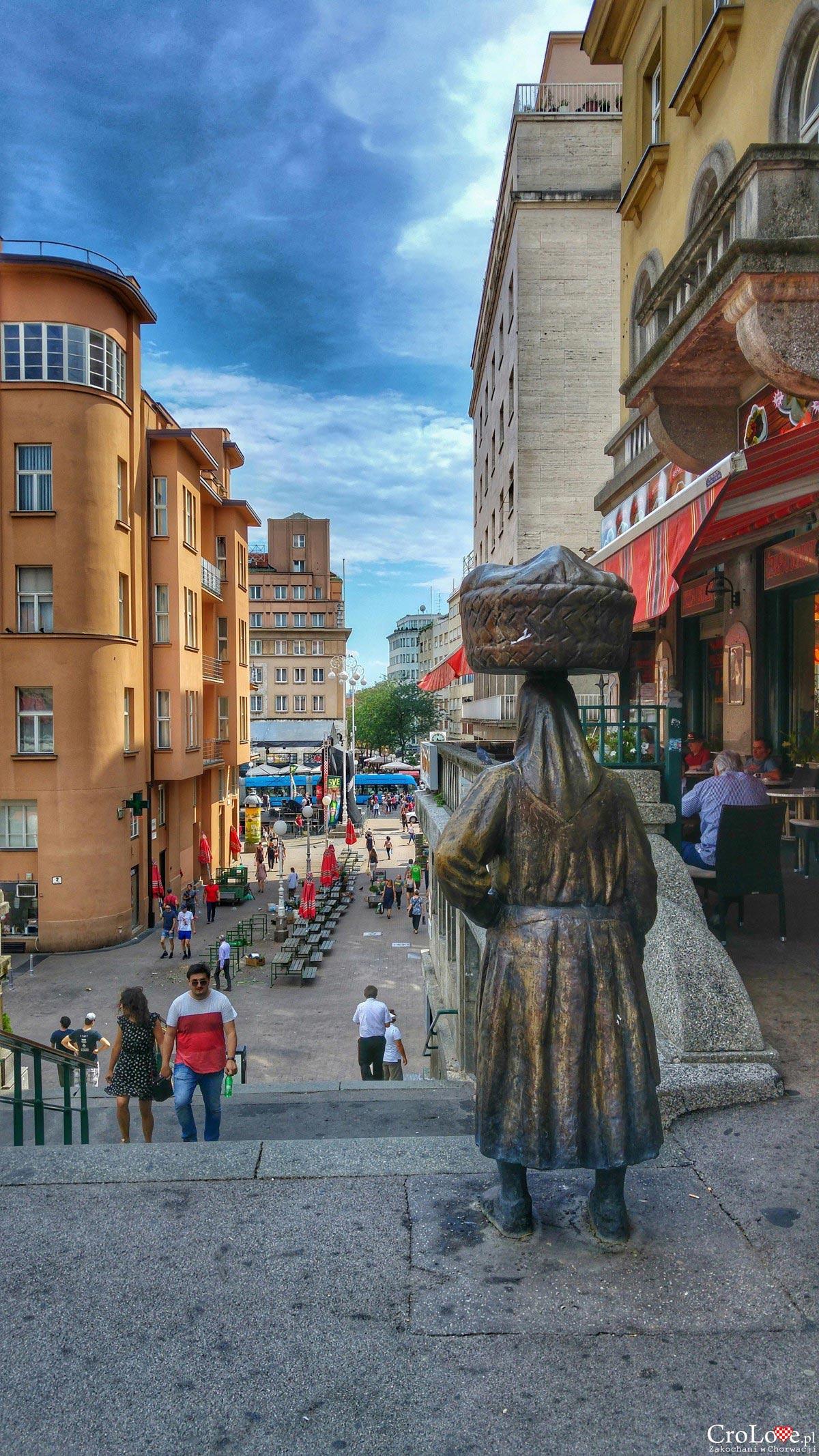 Targ Dolac w Zagrzebiu