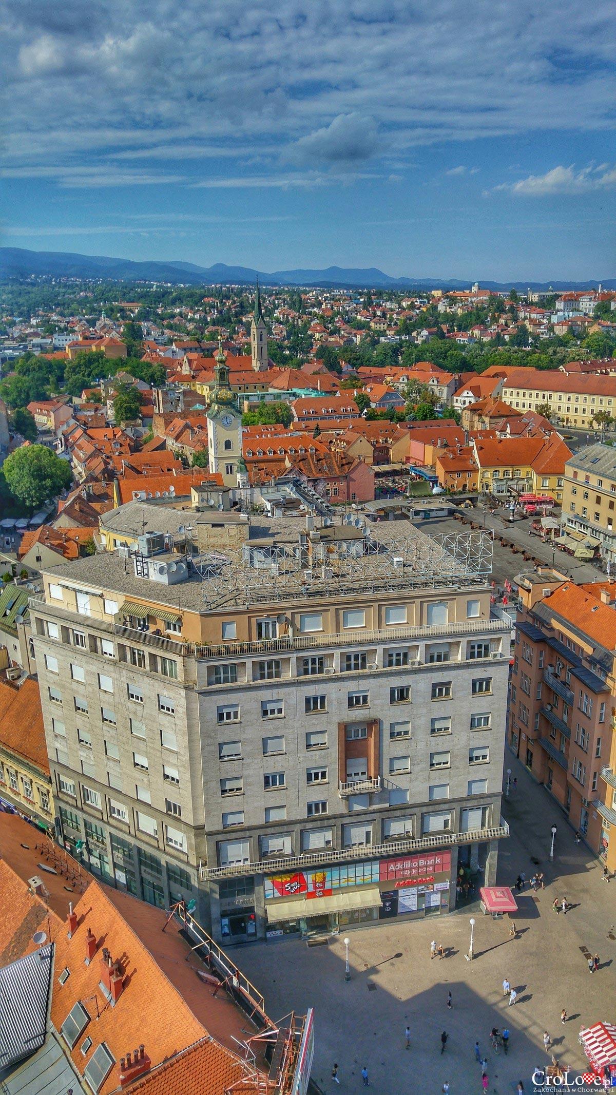 Panorama Zagrzebia