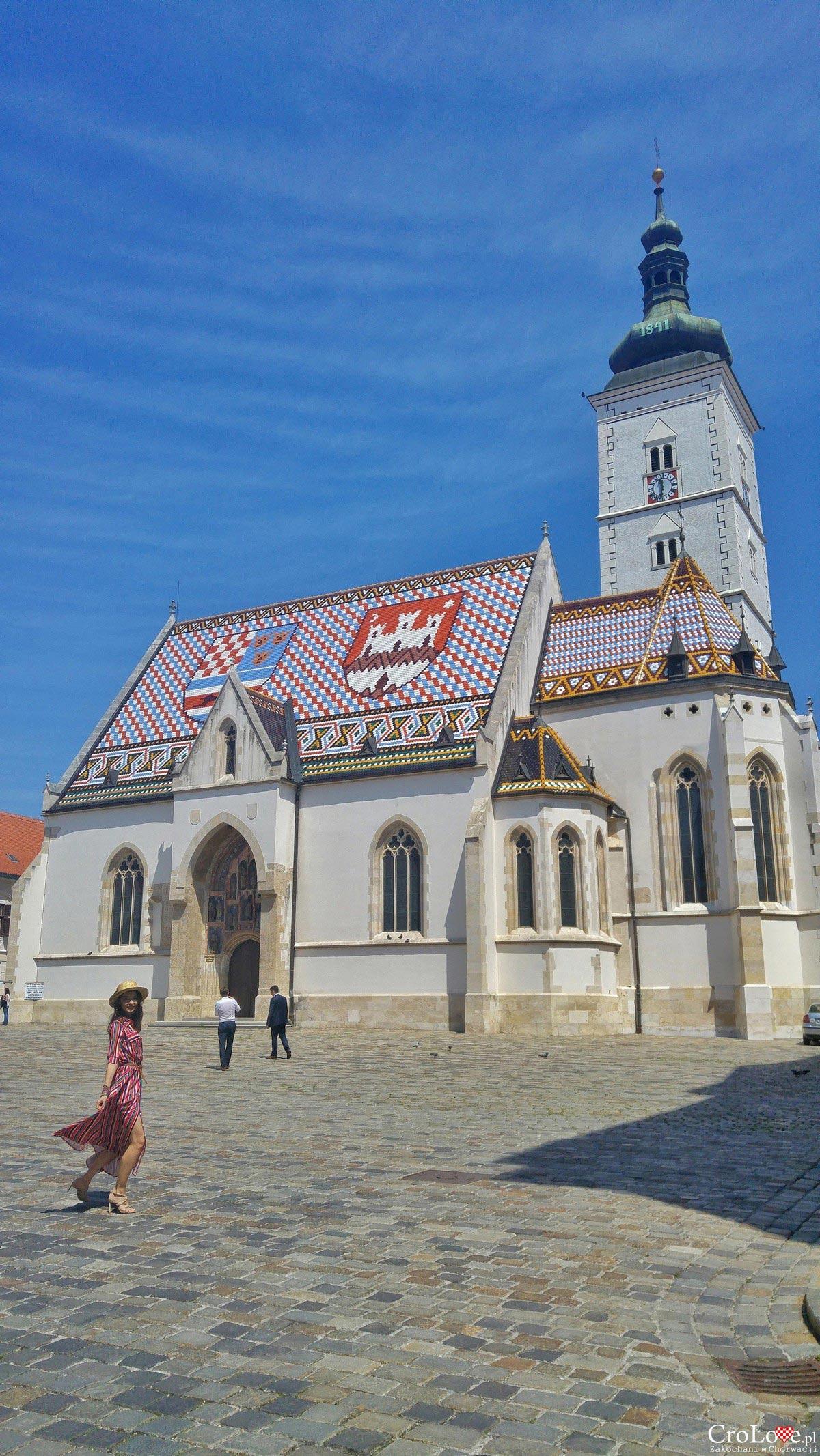 Kościół Świętego Marka w Zagrzebiu