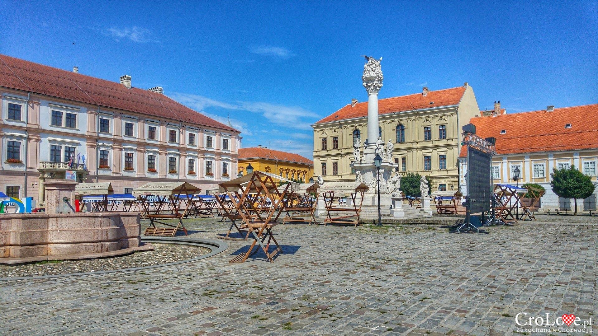 Plac. Tvrđa w Osijeku