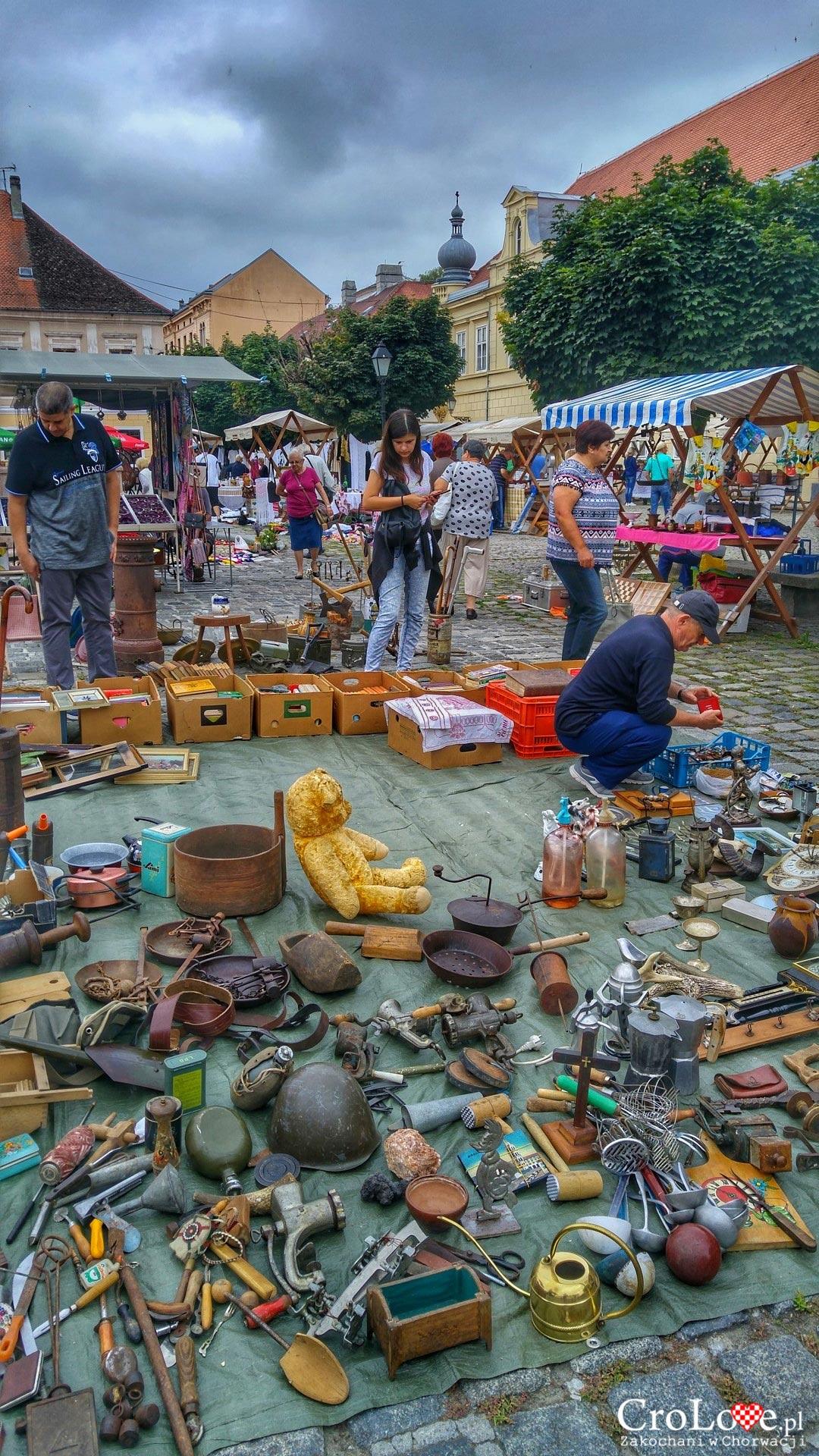 Targ staroci w Osijeku