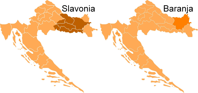 Region Slavonii i Baranji (fot. Wikipedia)