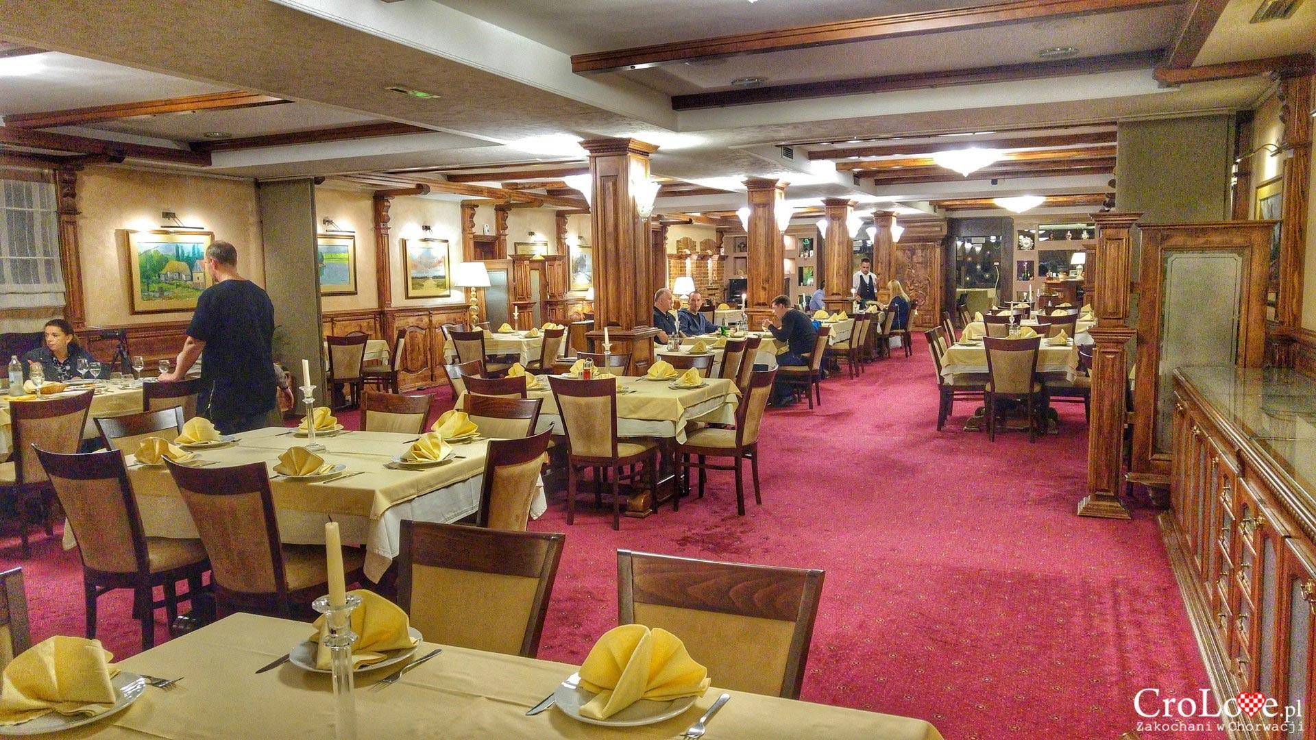 Restauracja z rekomendacją Michelin w hotelu Dunav w Iloku