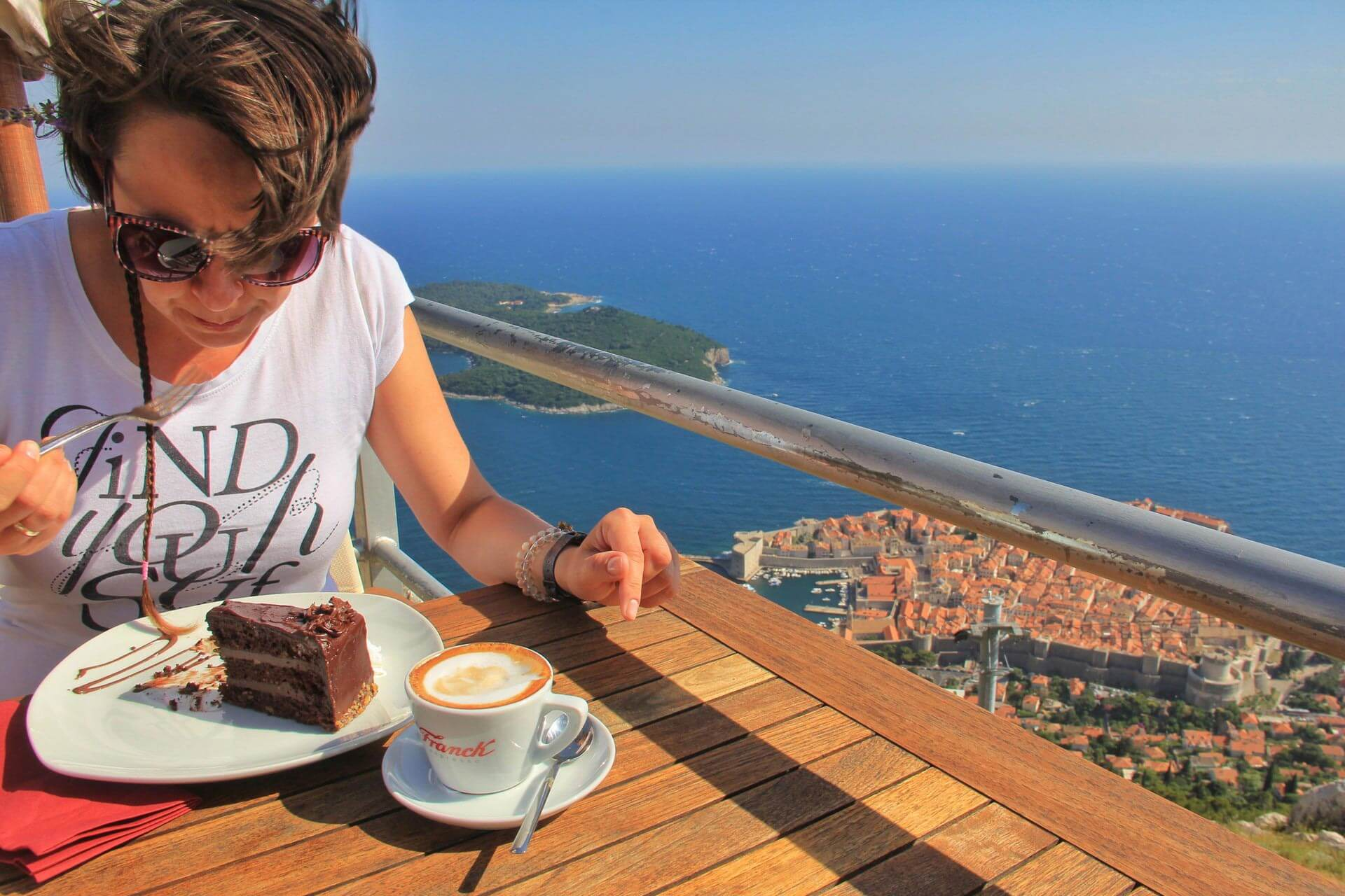Kawa w Dubrowniku