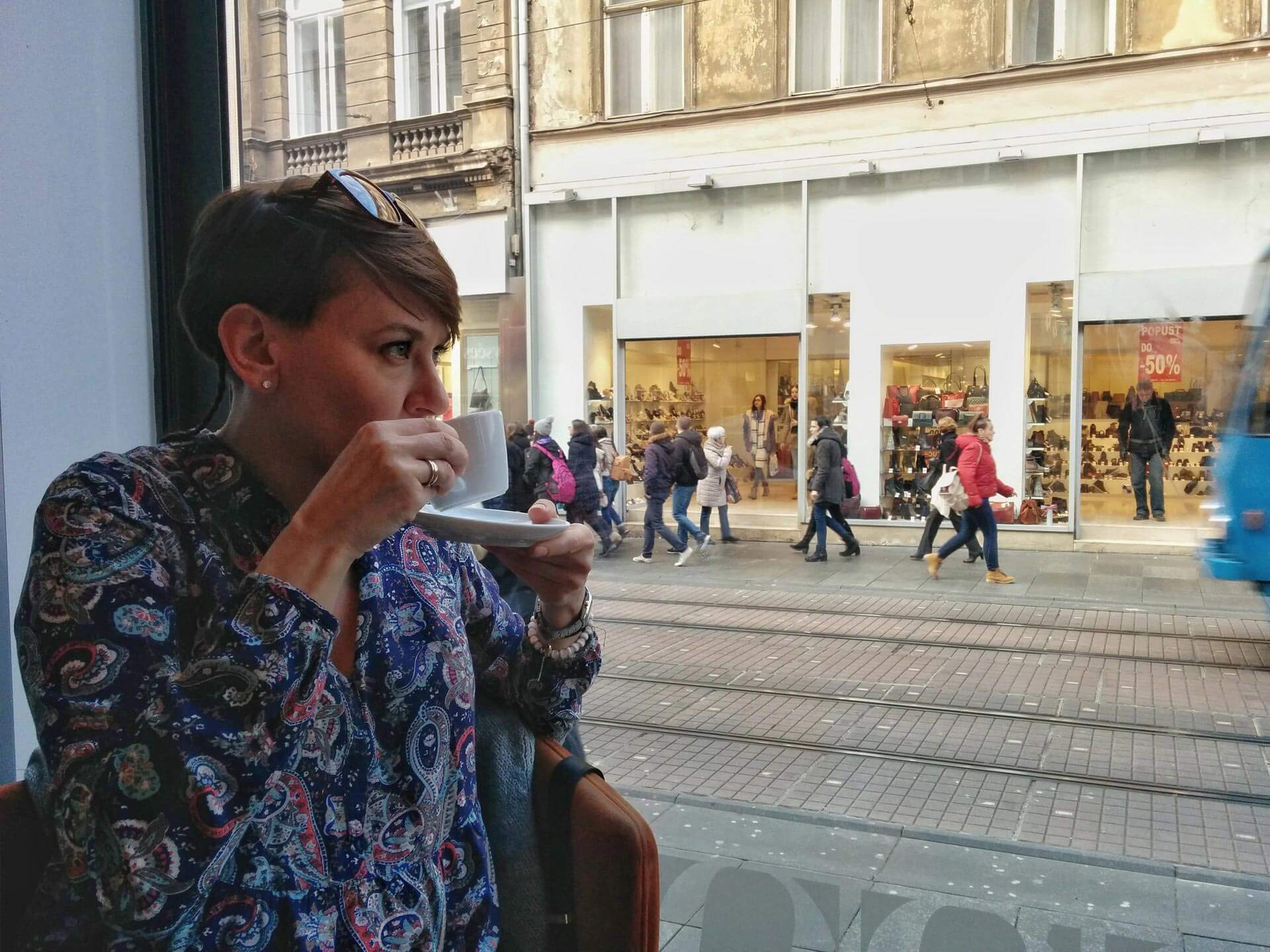 Kawa w Zagrzebiu