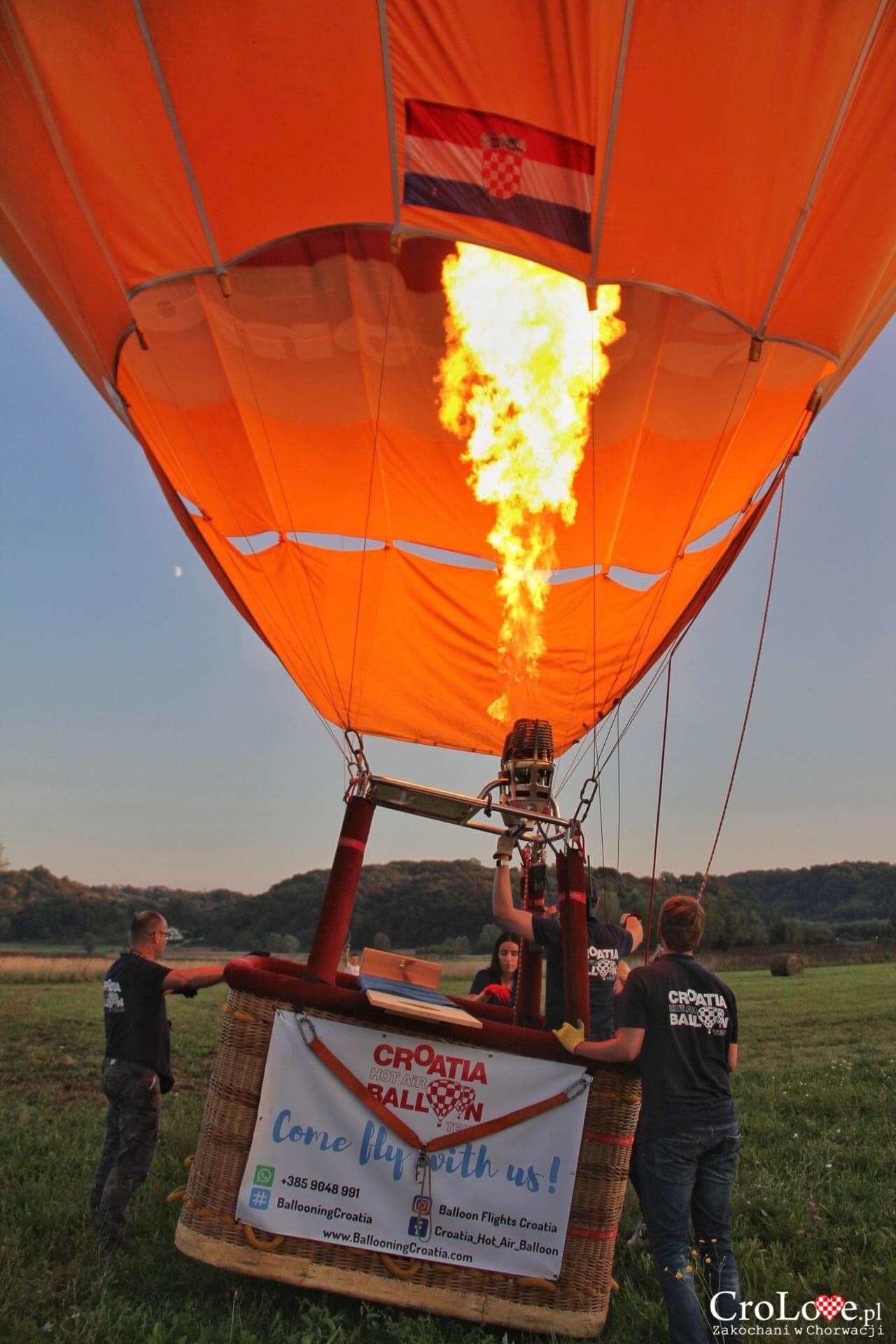 Lot balonem nad regionem Zagorje