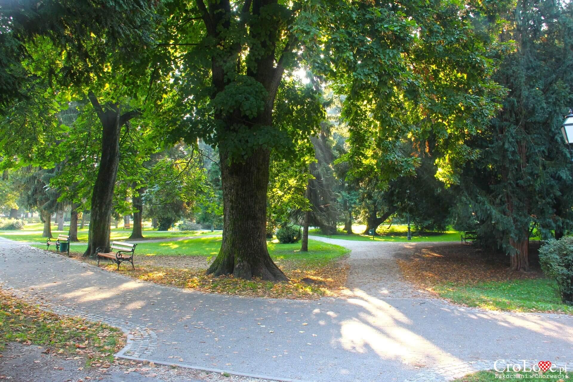 Park miejski w Varaždinie