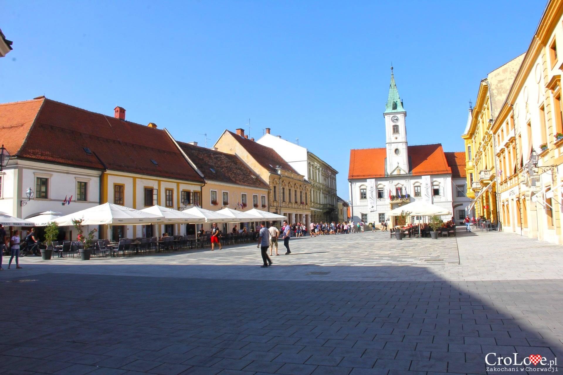 Plac Kralja Tomislava w Varaždinie