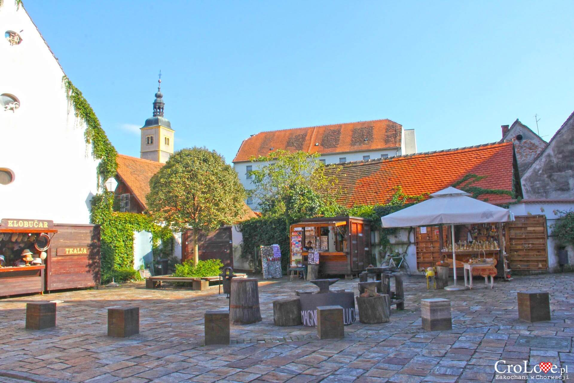 Trg tradicijskih obrta w Varaždinie