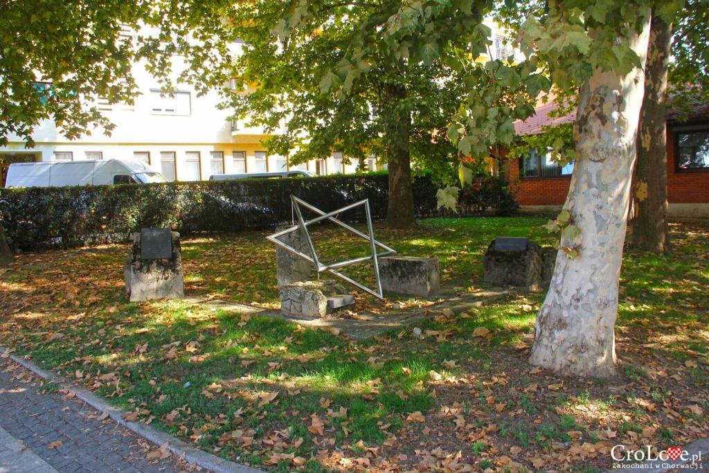 Miejsce zburzonej synagogi w Čakovcu