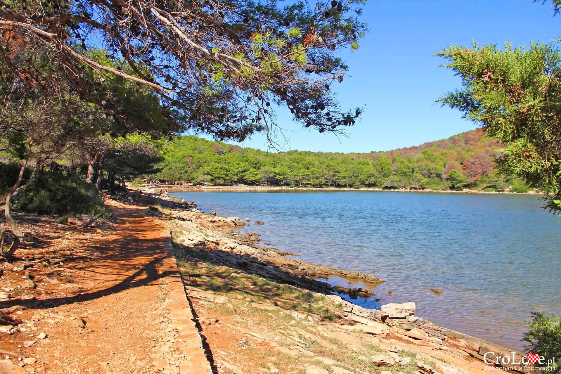 Słone jezioro Mir - Park Przyrody Telašćica na wyspie Dugi Otok