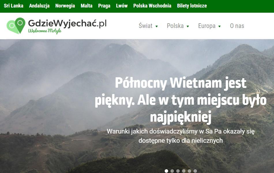 Blog gdziewyjechac.pl
