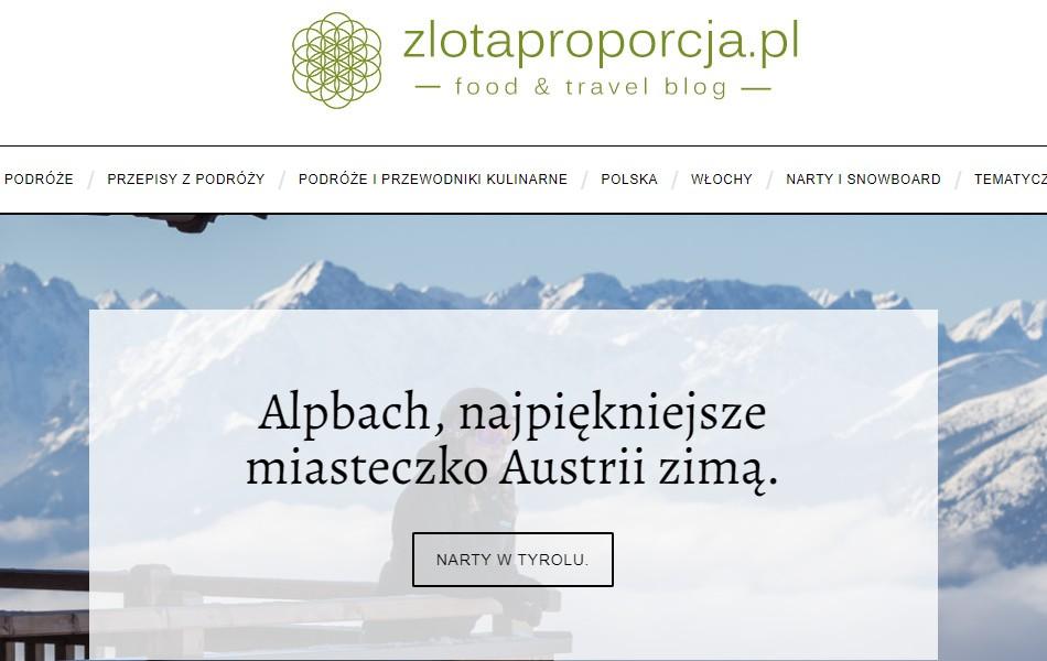 Blog zlotaproporcja.pl