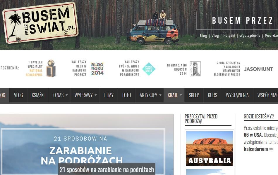 Blog busemprzezswiat.pl