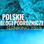 Ranking Polskich Blogów Podróżniczych 2018