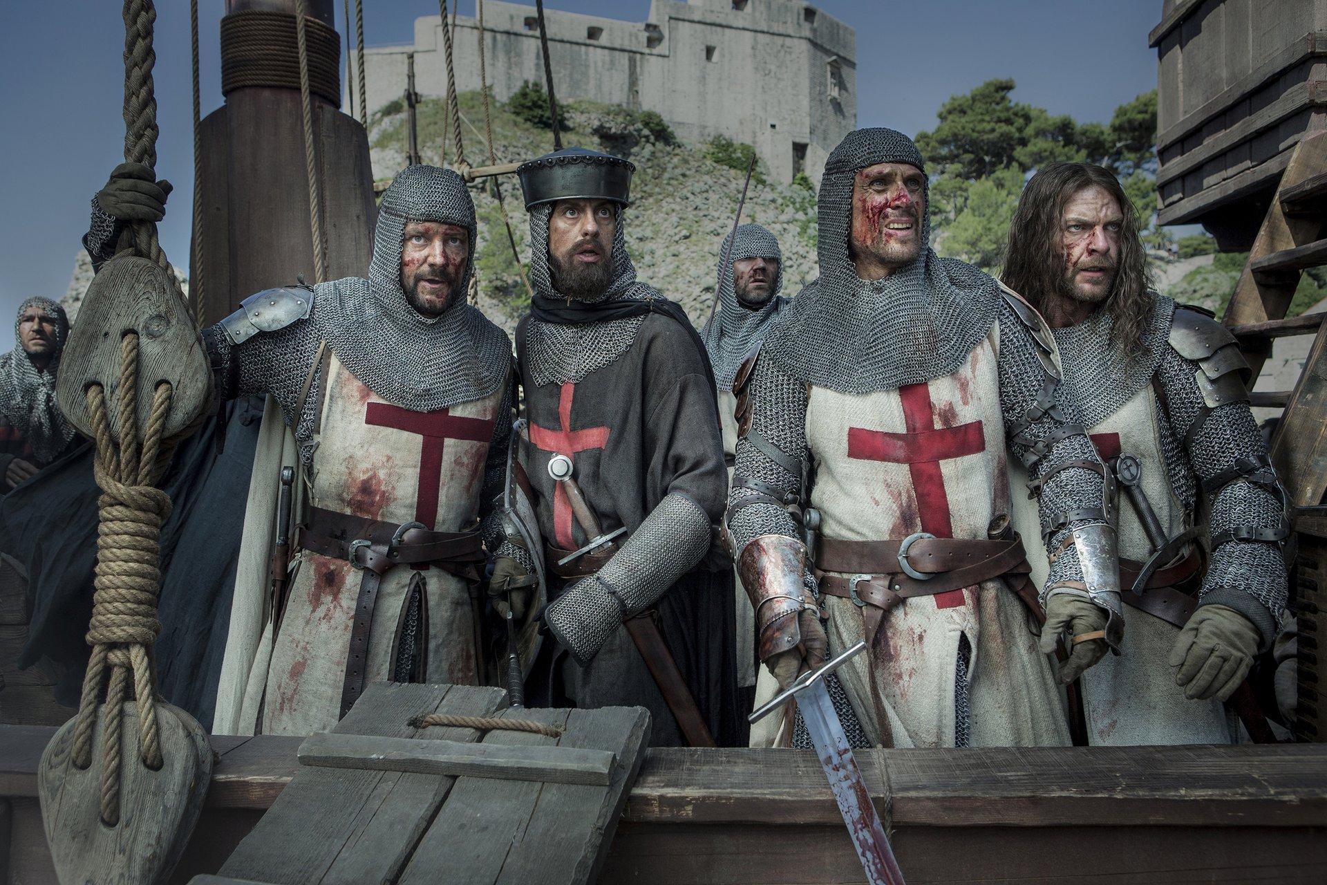 Kadr z serialu Templariusze