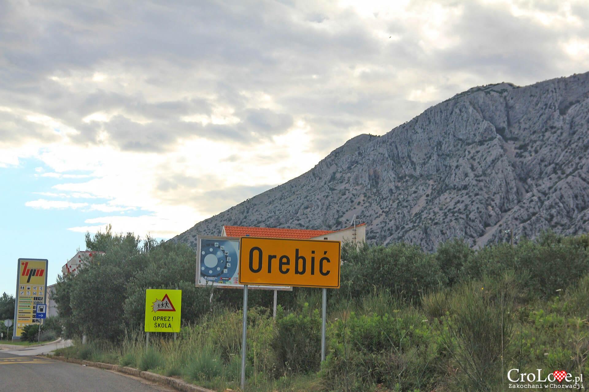 Orebić na półwyspie Pelješac w południowej Dalmacji