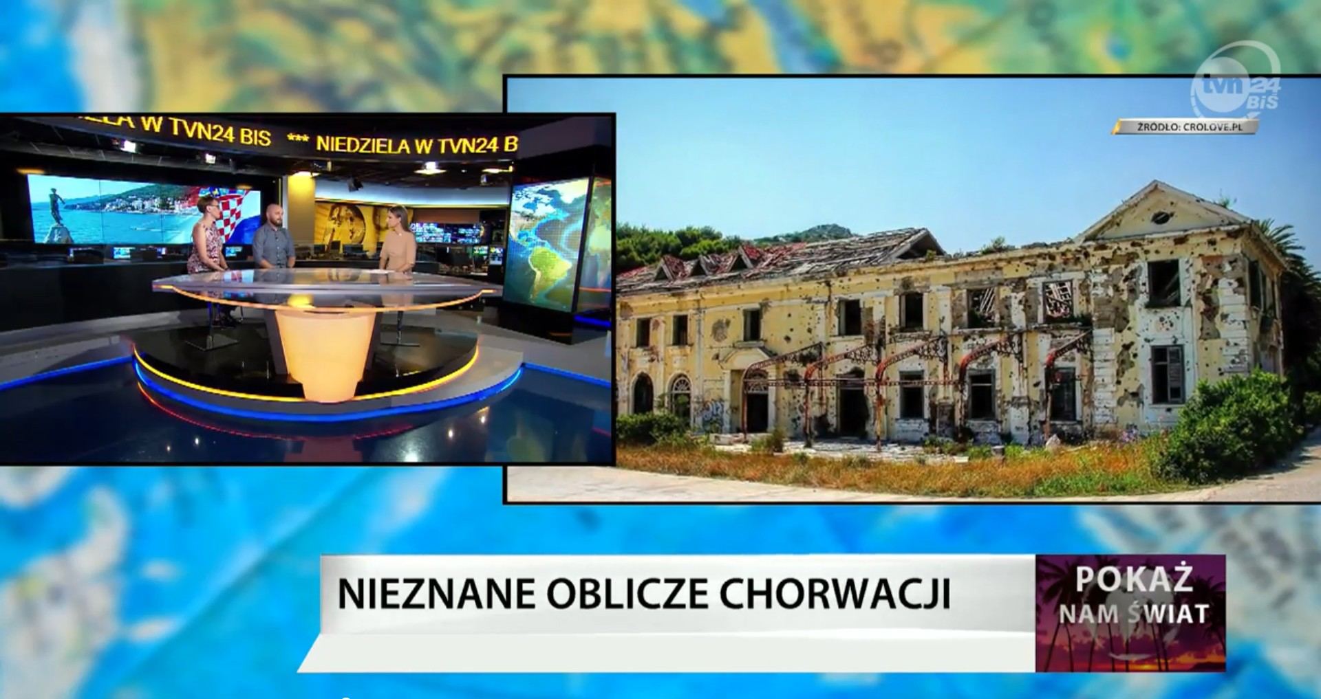 CroLove w TVN24BiS