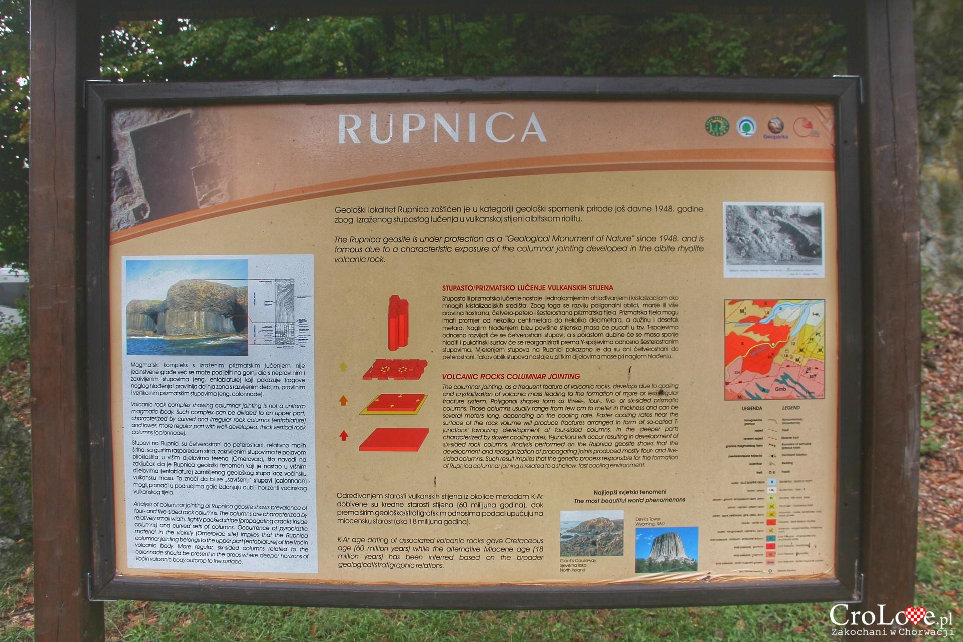 Park przyrody Papuk – Rupnica