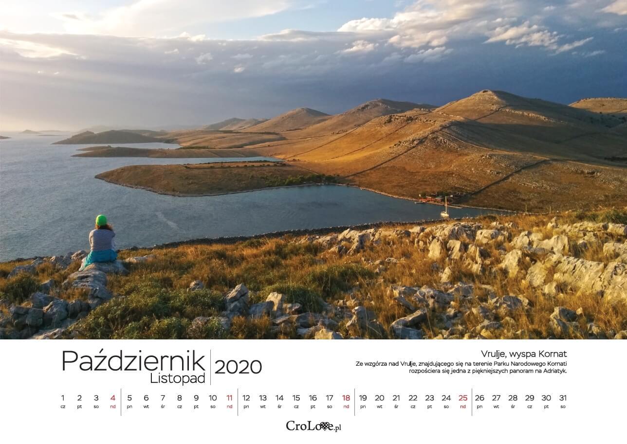 Kalendarz CHORWACJA 2020 CroLove - październik