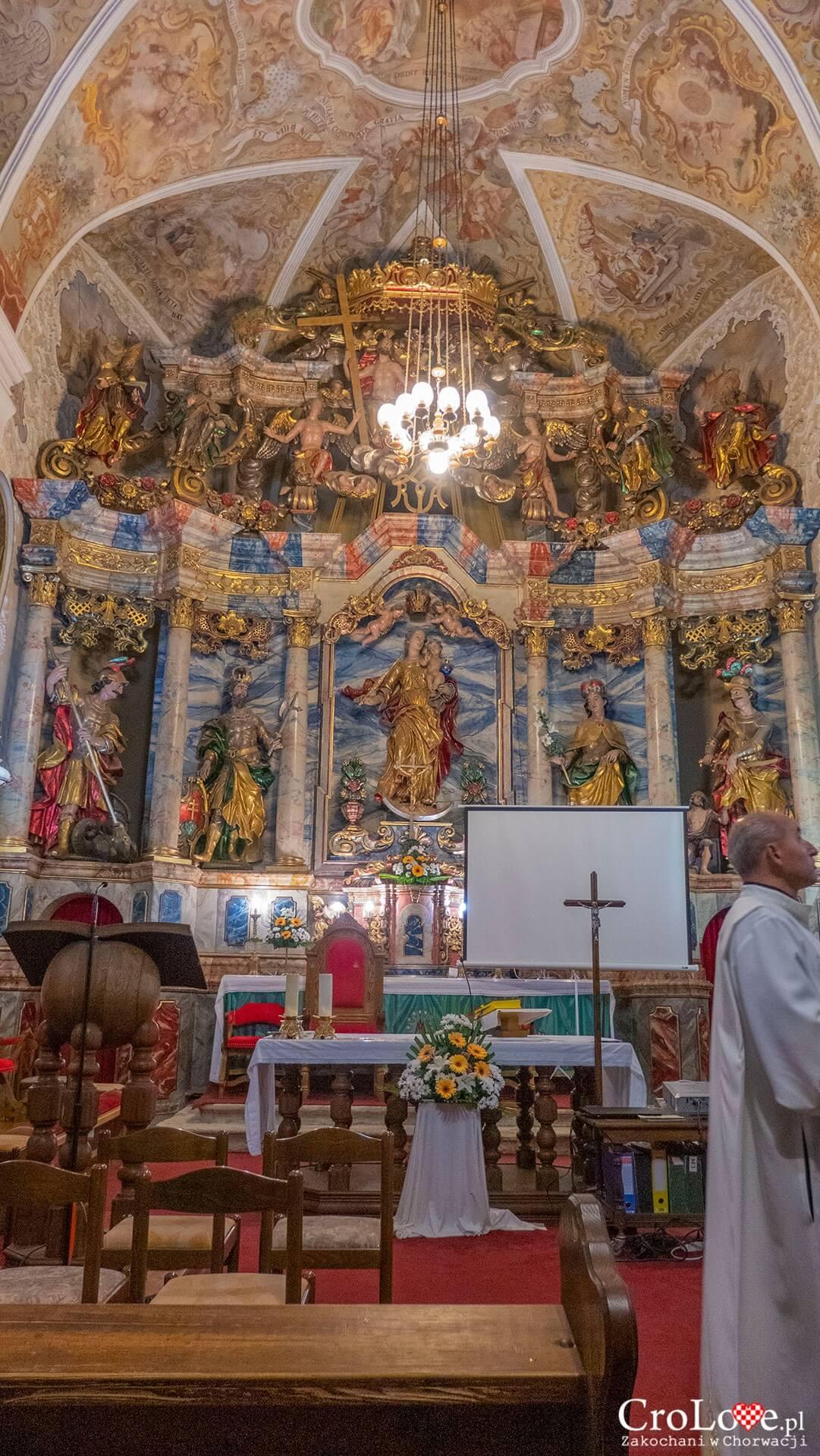Kościół Matki Boskiej Śnieżnej, Kutina - region Sisačko-Moslavački