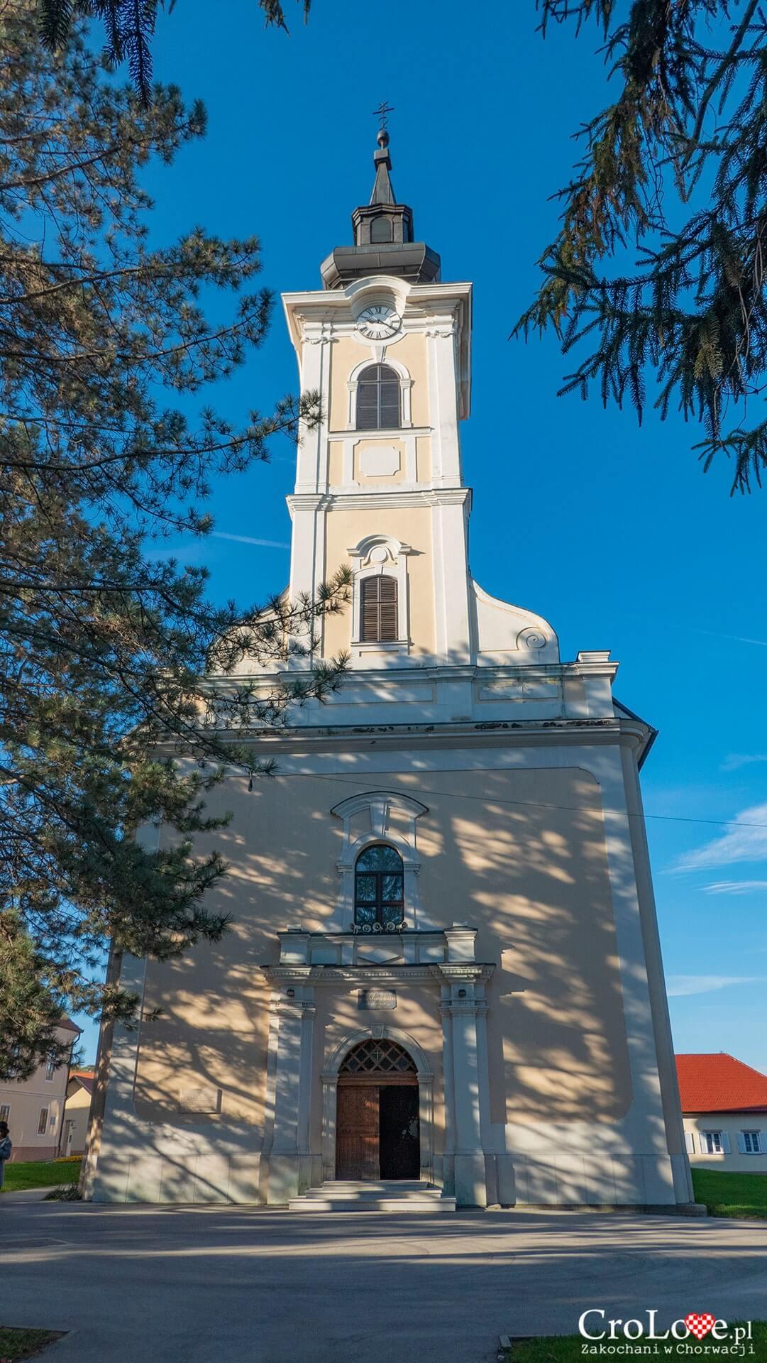 Kościół św. Wawrzyńca, Petrinja - region Sisačko-Moslavački