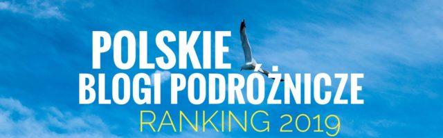 Polskie Blogi Podróżnicze - ranking 2019