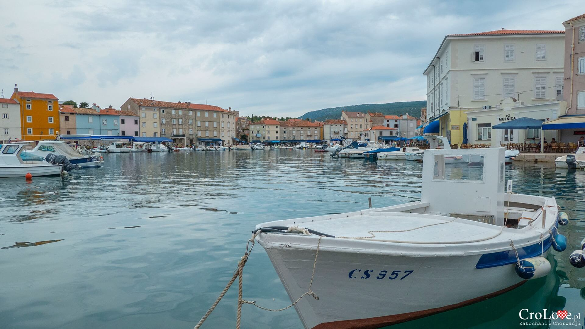 Cres na wyspie Cres w Chorwacji