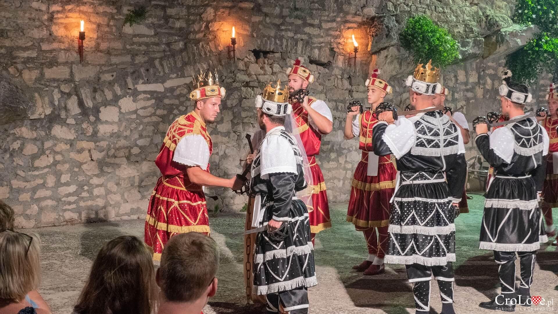 Taniec Moreška w Korčuli