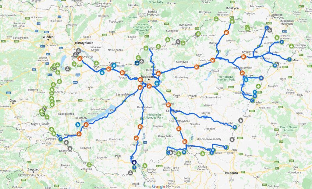 Drogi na Węgrzech