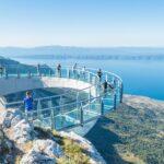 Skywalk Biokovo – szklany taras widokowy nad Riwierą Makarską