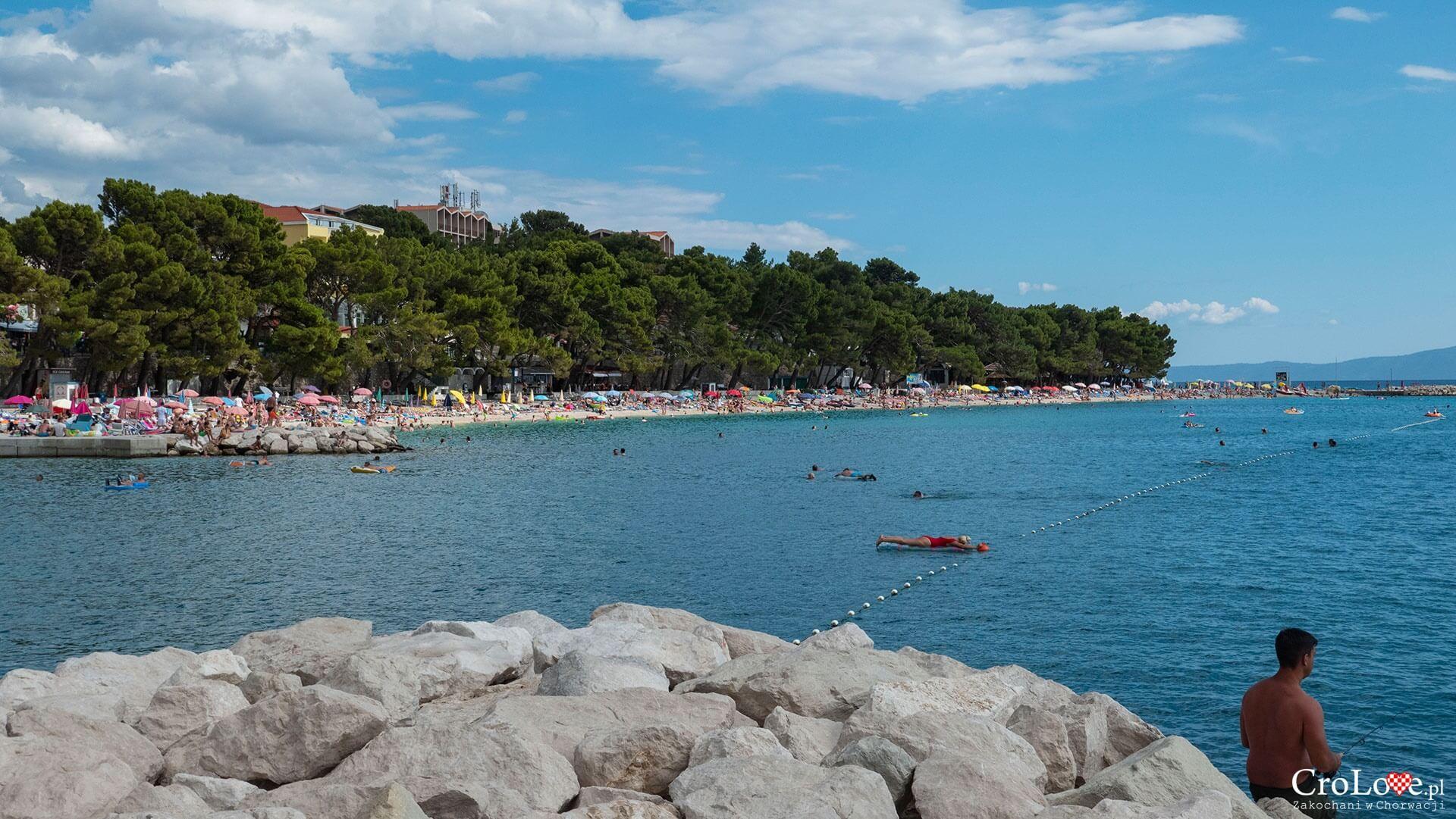 Plaża w Baška Voda, Riwiera Makarska