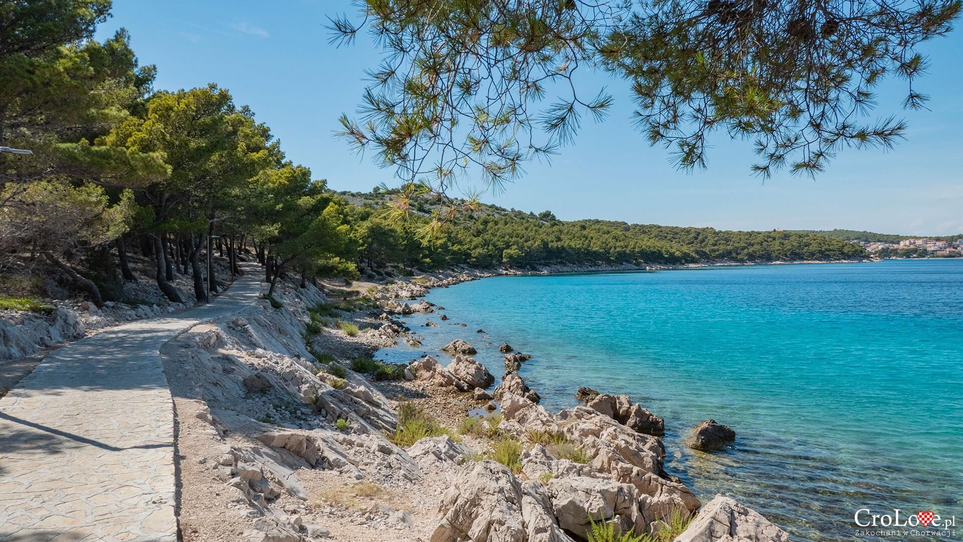 Rowerem po wyspie Murter, Chorwacja