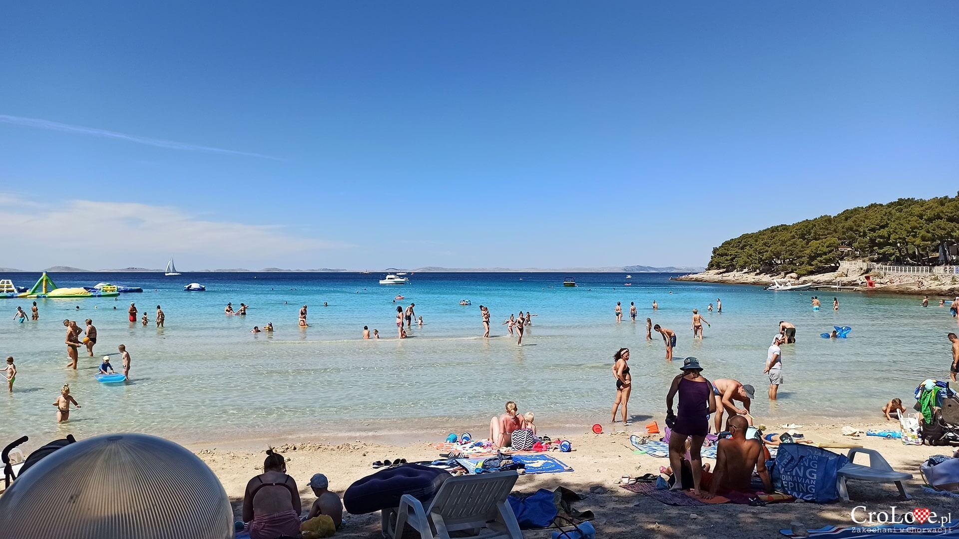 Plaża Slanica na wyspie Murter
