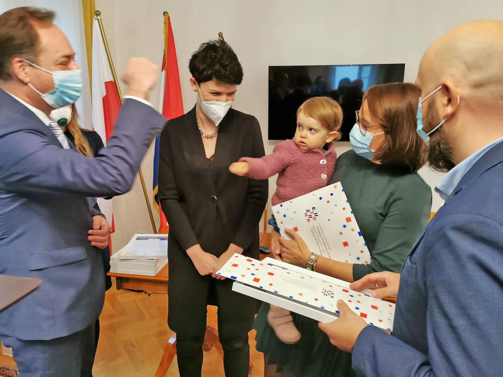 Podziękowania dla CroLove za współpracę i wsparcie w promocji chorwackiej turystyki w Polsce w 2020 roku