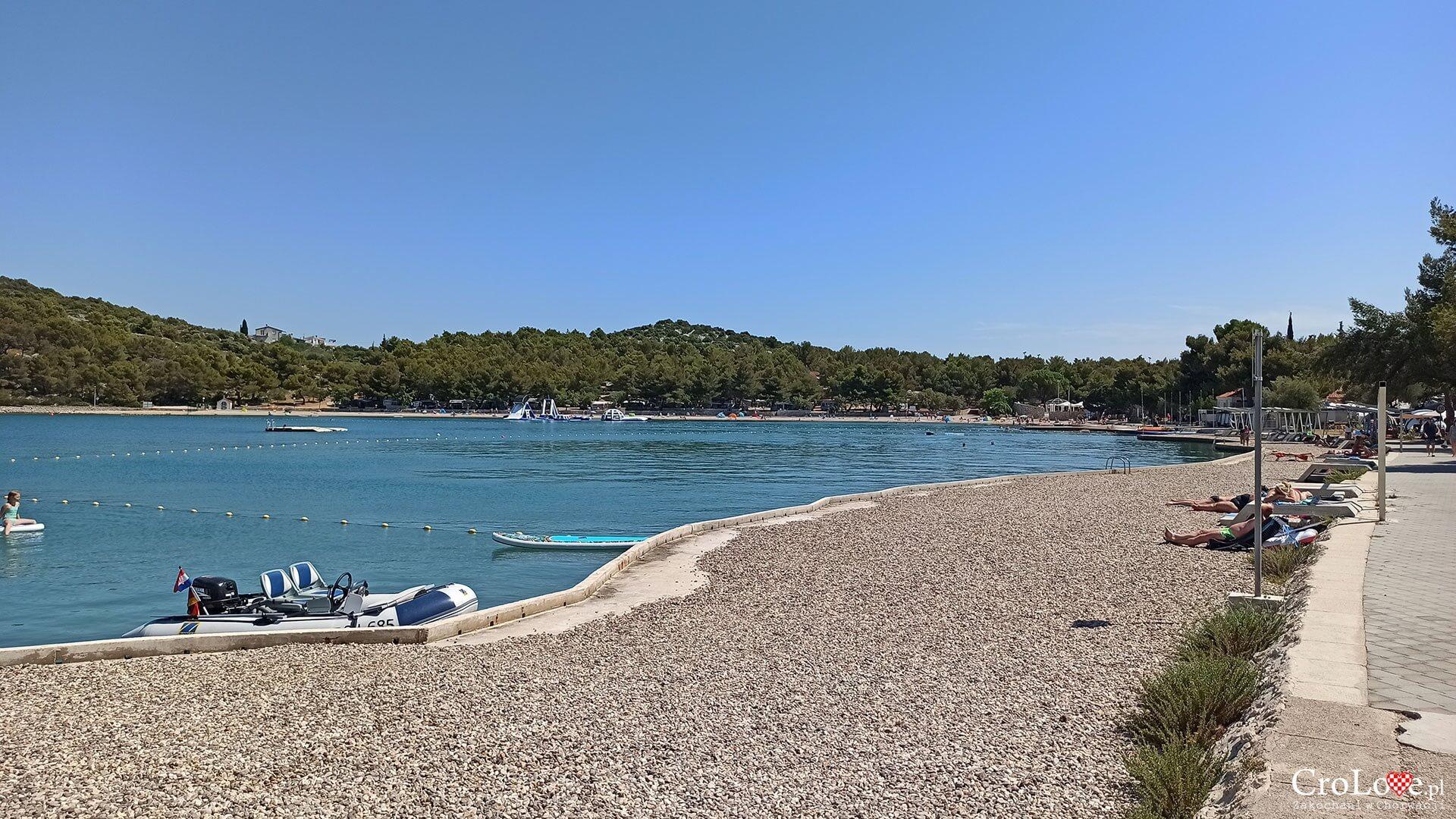 Plaża Lovišća na wyspie Murter