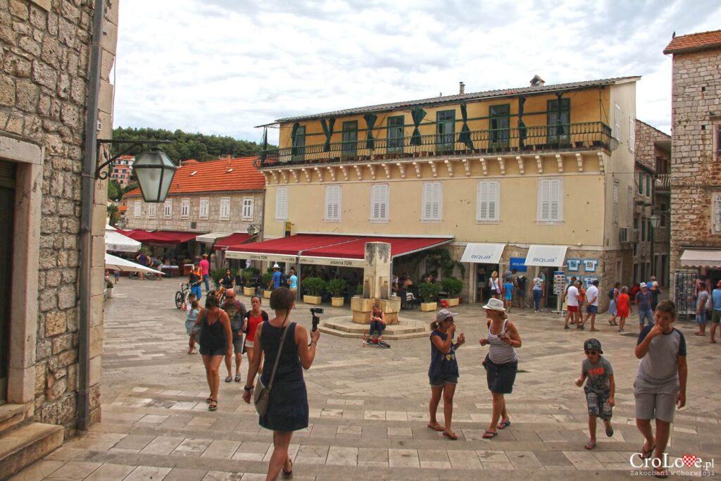 Jelsa na wyspie Hvar