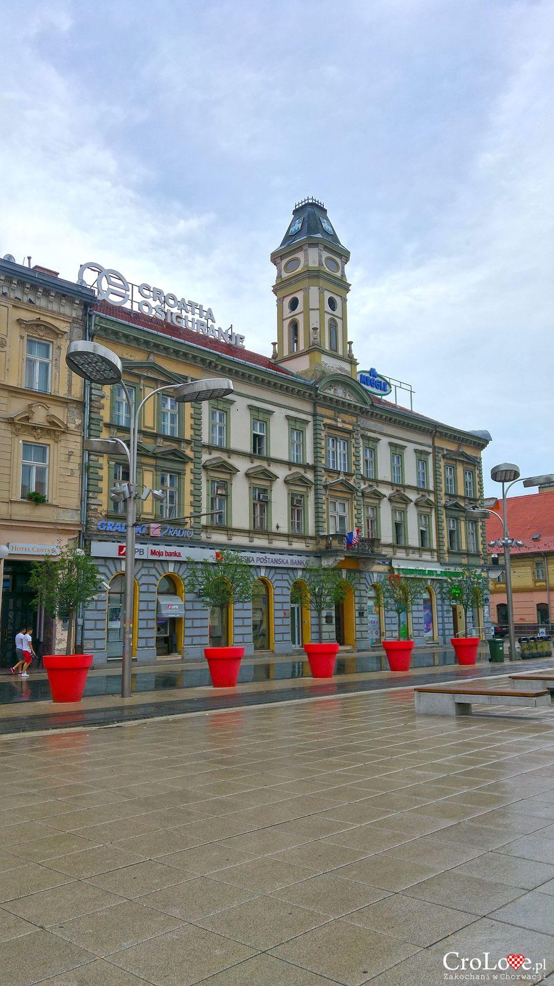 Plac Ante Starčevića w Osijeku